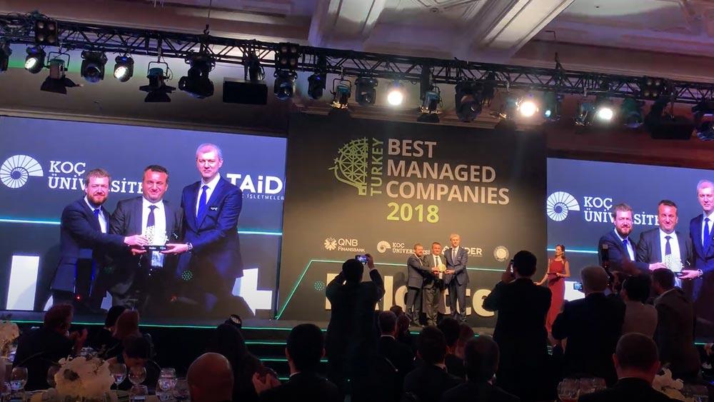 Profen, Deloitte En İyi Yönetilen Şirketler Ödülü 2018'nin Sahibi Oldu